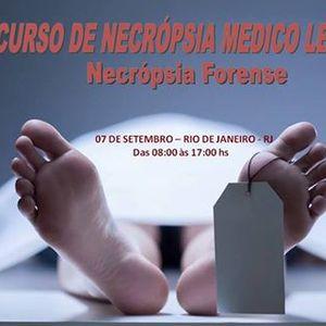 Curso de Necropsia Forense - Rio de Janeiro