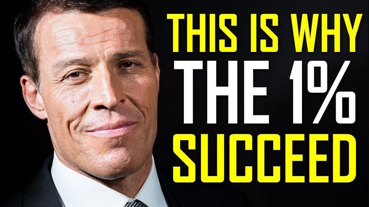 [1 FOR 1 OFFER] TONY ROBBINS WEALTH MASTERY