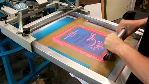 Pop Up Atelier 1 Zeefdrukken
