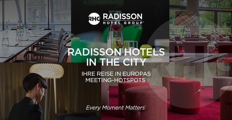 RADISSON HOTELS IN THE CITY at Radisson Blu Hotel, Zurich Airport ...