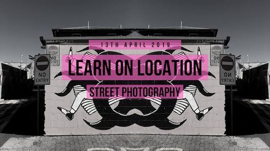 Learn on Location  Street Photography workshop w Canon