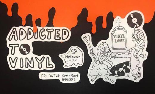 Addicted to Vinyl The Halloween Edition