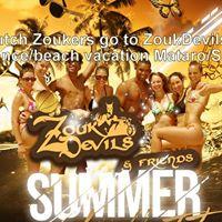 Dutch Zoukers go to ZoukDevils dancebeach vacation MataroSpain