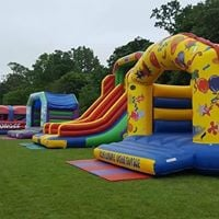 Inflatable Family Fun Day at Chalkwell Park Leigh-on-Sea