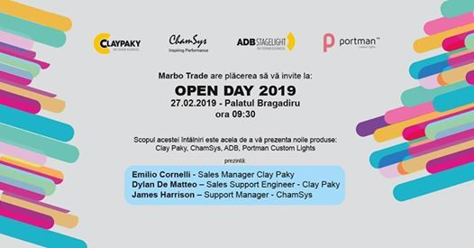 Marbo Trade - Open Day 2019