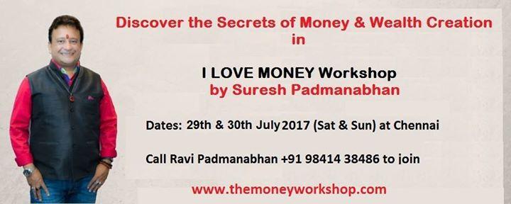 I Love Money - Chennai Workshop - July 2017 Batch