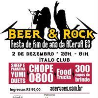 Beer &amp Rock - Festa de Fim de Ano Acerva-ES