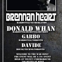 Evolve presents Warzone with Brennan Heart