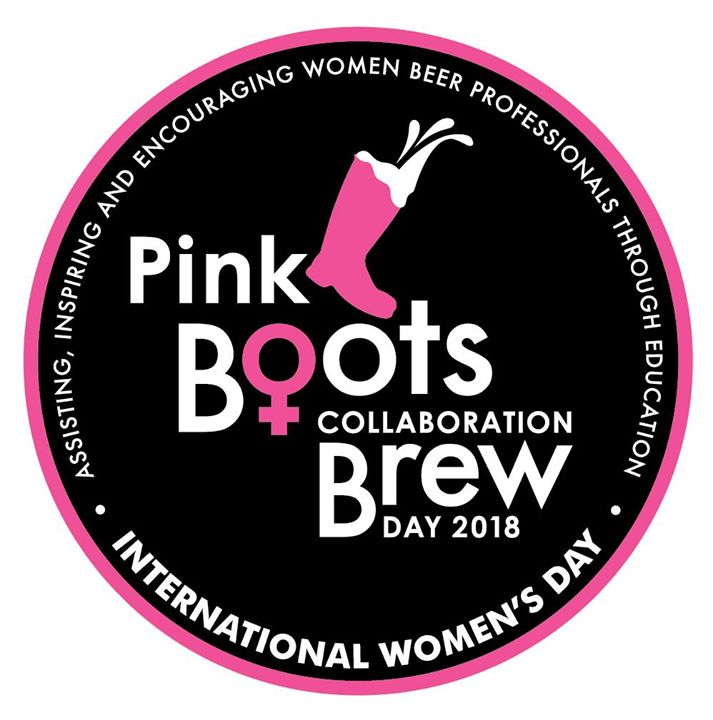 Pink Boots Collaboration Brew Day 2018