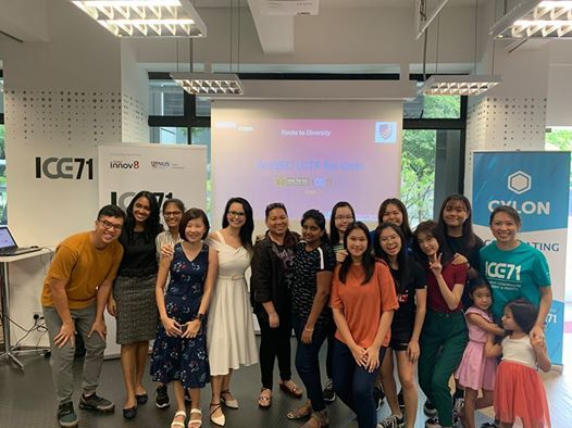 The First CTF For Girls in Singapore at ICE71