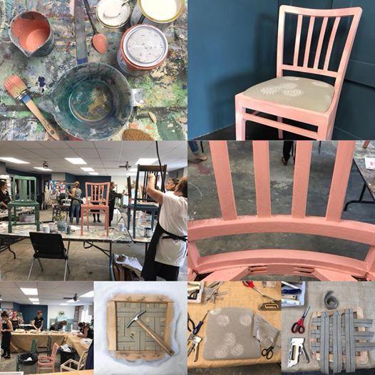 Complete Chair Makeover Workshop