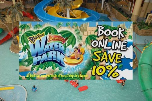 Sandcastle Waterpark open at Weekends in March