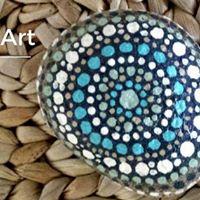 Yoga &amp Mandala Stone Art