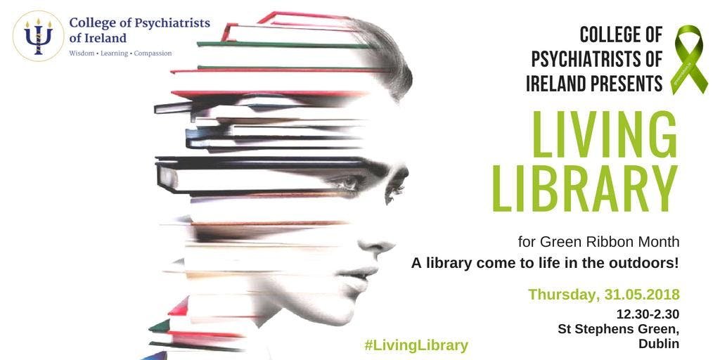 Living Library for Green Ribbon Month