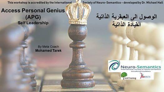 Accessing Personal Genius - (APG)- Self Leadership