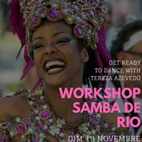 Stage Samba Carnaval de Rio  Marseille