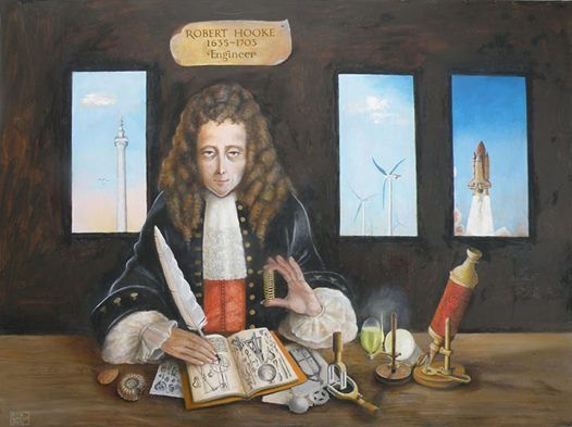 robert hooke scientist biography