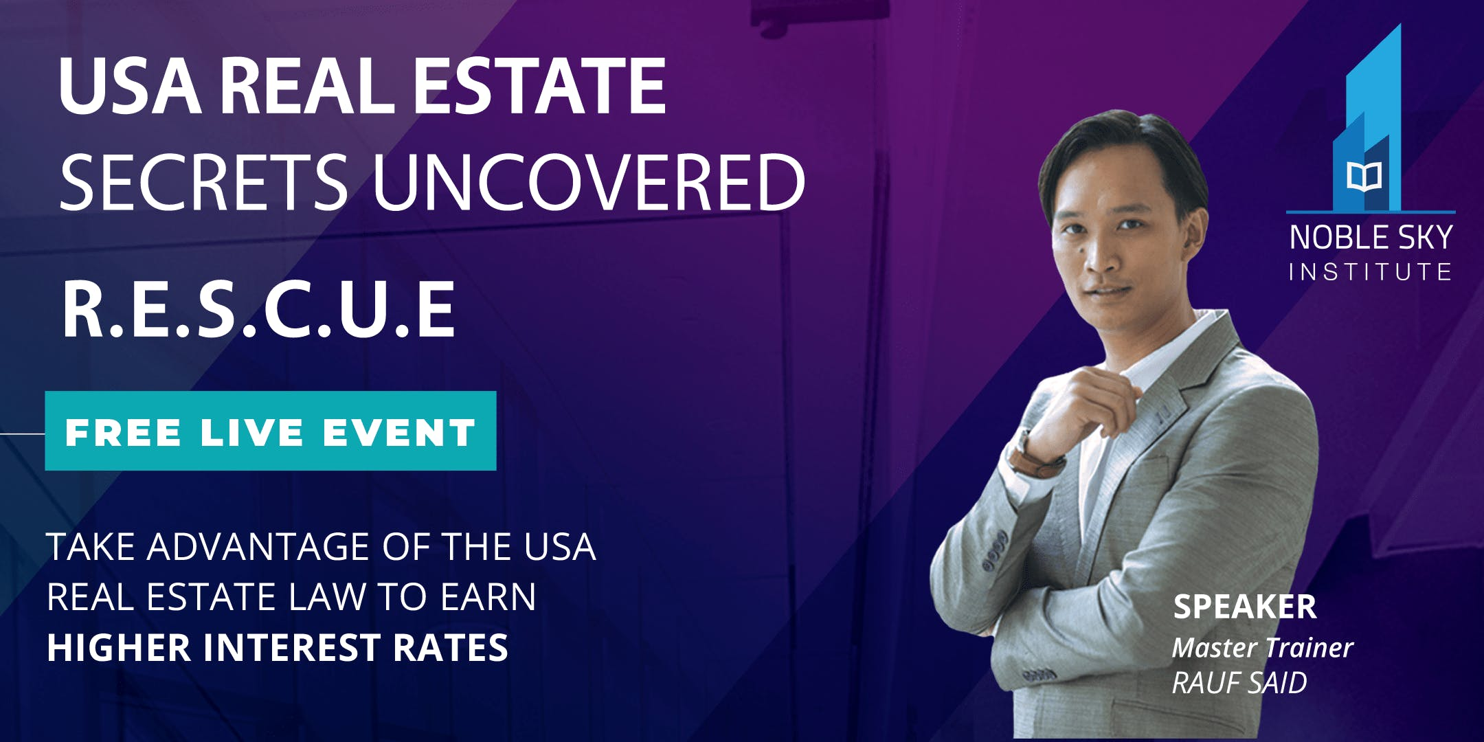 [FREE Live Event In Singapore] US Real Estate Secrets Uncovered 2018