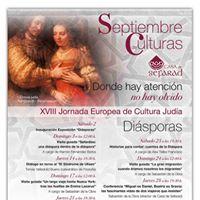 Disporas - Septiembre de Culturas en Casa de Sefarad