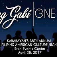 Kababayan at UCIs 38th Annual Pilipinx-American Culture Night