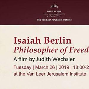 Isaiah Berlin Philosopher of Freedom
