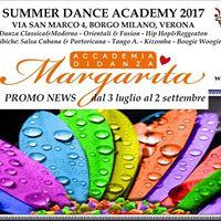 Margarita Summer Dance Academy 29 may - 2 September 2017