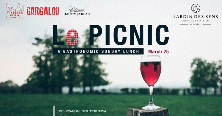 Le Picnic A Gastronomic Sunday Lunch At Jardin Des Sens Saigon Ho