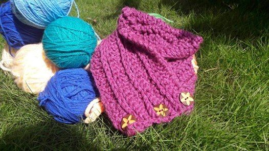 Crochet workshop for Beginners  Make a Cowl Neck Warmers