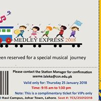 The Medley Express Inter-school Choir Competition
