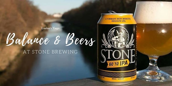 Balance & Beers at Stone Brewing   Richmond