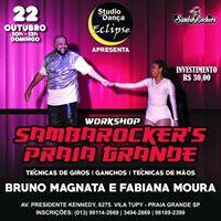Workshop Samba Rock Praia Grande
