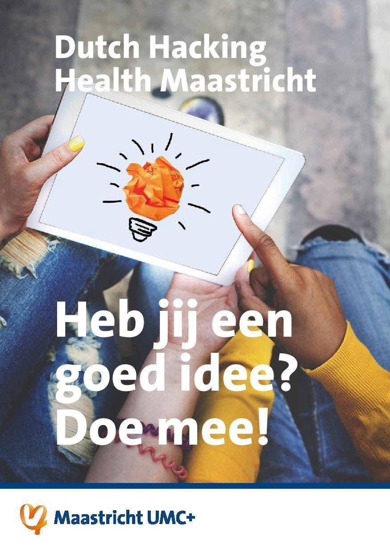 Dutch Hacking Health Maastricht 2019