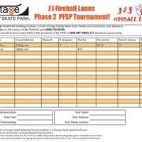 Phase 2 J&ampJ Fireball Lanes PFSP tournament Baker Format Bowling