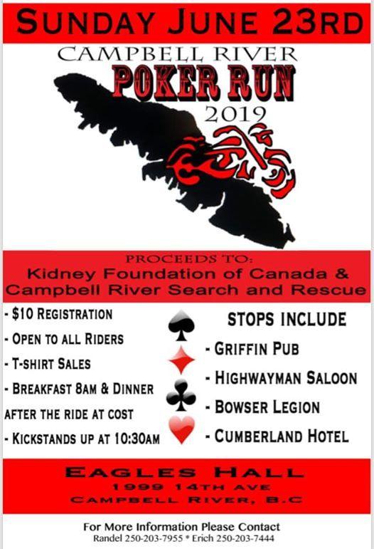 Campbell River Poker Run 2019