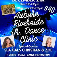 Auburn Riverside Dance Team -Jr. and Middle School Dance Clinic