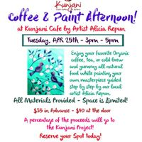 Painting &amp Coffee At Kunjani Cafe in Naples
