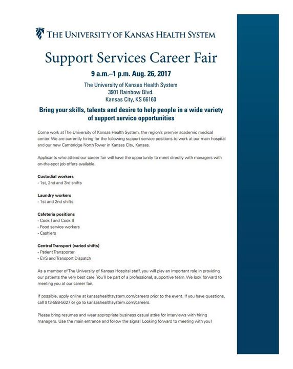 University of Kansas Health System Career Fair | Kansas City