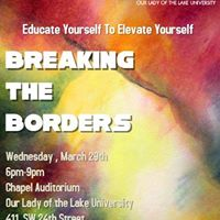 Breaking The Borders  Educate Yourself To Elevate Yourself