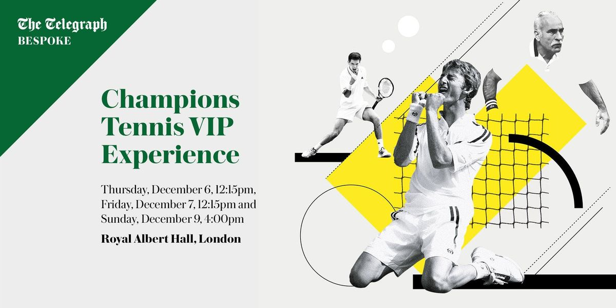 Champions Tennis VIP Experience 2018