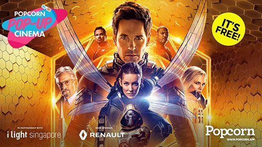 Popcorn Pop-Up Cinema x i Light 2019  Ant-Man and the Wasp