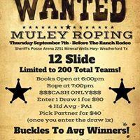Parker County Sheriff S Posse Entertainment Events