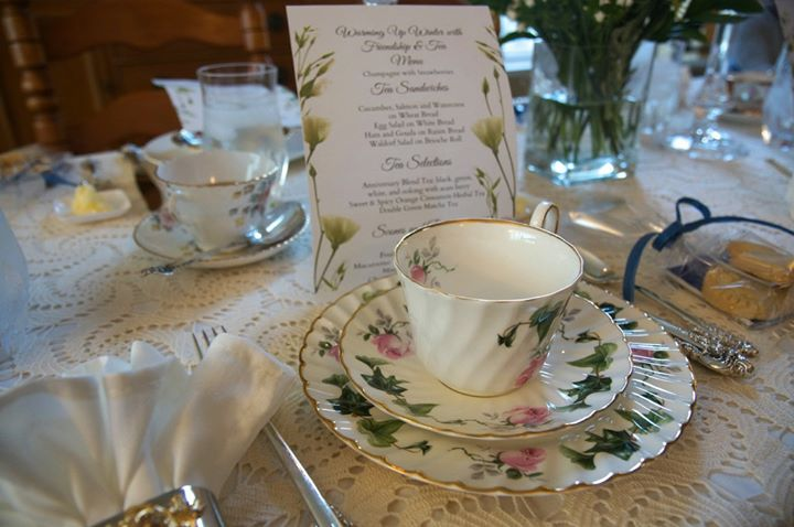 Winter Wonderland Victorian Tea Party