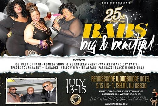 Babs Bbw 25th Anniversary Summer Jam