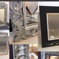 Painteddecoupaged frames workshop