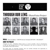 PhotoVoice Project - Through our Lens opening event
