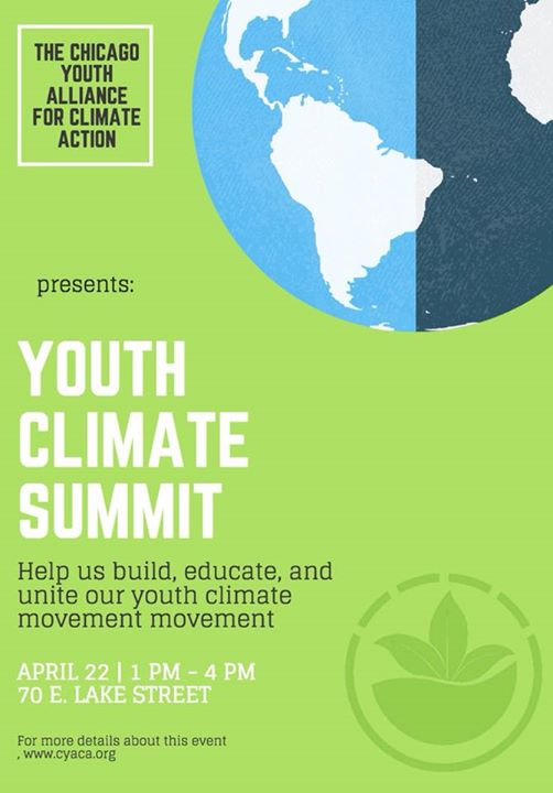 Youth Climate Summit At 70 East Lake Street Chicago Illinois
