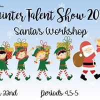 MMHS Winter Talent Show Santas Workshop