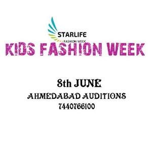AHMEDABAD AUDITIONS KIDS FASHION WEEK