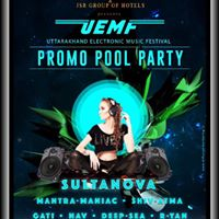 UEMF Promo Pool Party in Dehradun