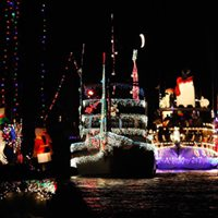 Christmas Boat Parade with the Lakewood Chamber